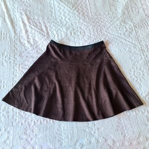 NWT Premise Sueded Skirt